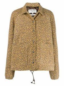 YMC leopard-print jacket - Neutrals