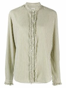 Massimo Alba striped blouse - Green
