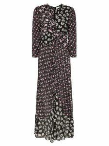 Rixo Chelsea floral print dress - Black