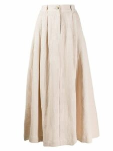 Mara Hoffman Tulay midi skirt - Neutrals