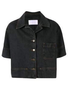 Ingorokva Eleni denim shirt - Black