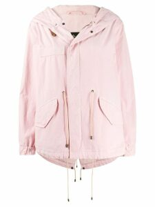 Mr & Mrs Italy hooded parka - PINK