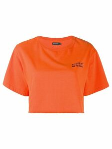 Misbhv cropped T-shirt - Orange
