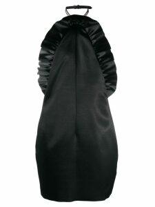 Philosophy Di Lorenzo Serafini ruffle trim halterneck dress - Black