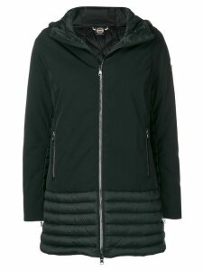 Colmar panelled padded parka - Black