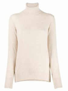 Zanone turtle neck jumper - Neutrals