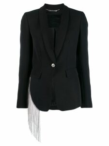 Philipp Plein single-breasted fitted blazer - Black