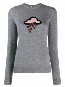 Markus Lupfer knitted cloud jumper - Grey