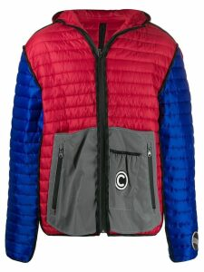 Colmar A.G.E. By Shayne Oliver quilted panelled jacket - Blue