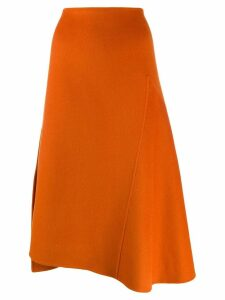 Odeeh A-line midi skirt - Orange