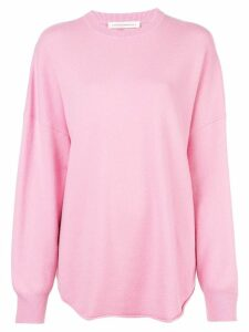 Extreme Cashmere bagg fit sweater - Pink