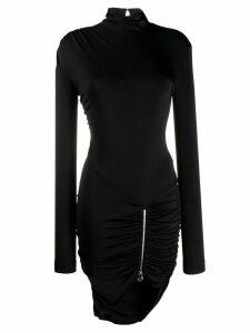 Philipp Plein fitted mini dress - Black