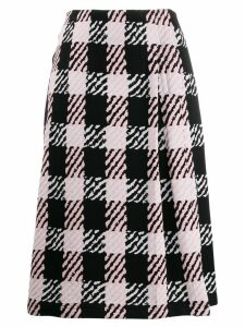 Marni checked midi skirt - Pink