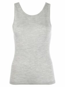 N.Peal fine knit tank top - Grey