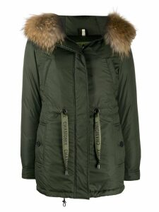 Alessandra Chamonix hooded down coat - Green