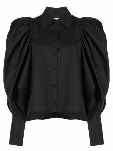 Khaite puffed sleeves shirt - Black
