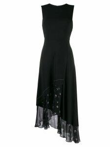 Markus Lupfer floral trim shift dress - Black