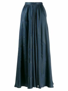 Indress high waisted skirt - Blue