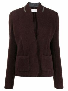 Fabiana Filippi classic fitted blazer - Red