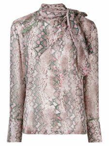 A.F.Vandevorst patterned shirt - Grey
