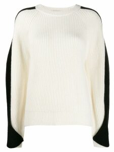 Lala Berlin twisted sleeve sweater - White
