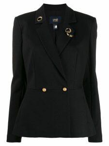 Cavalli Class fitted blazer - Black