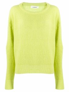 Circus Hotel ribbed relaxed-fit jumper - Yellow