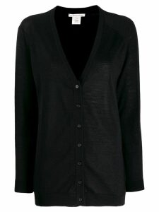 Stefano Mortari colour block cardigan - Black