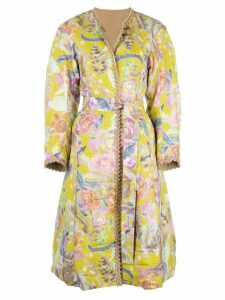 Tsumori Chisato reversible belted coat - Yellow