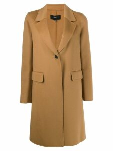 Arma single breasted coat - Neutrals
