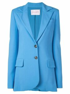 Carolina Herrera fitted blazer - Blue