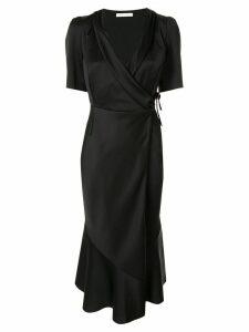 Rachel Gilbert Dariela wrap dress - Black