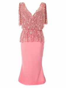 Rachel Gilbert Jessemy sequin dress - Pink