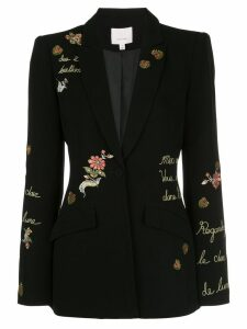 Cinq A Sept Estelle love story blazer - Black