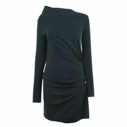 Vivienne Westwood Anglomania Anglomania Mini Taxa Lurex Dress