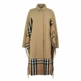 Burberry Burberry Scarf Car Coat