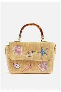 Womens **Shell Carmen Tote Bag By Skinnydip - Multi, Multi
