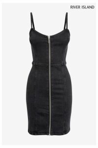 Womens River Island Black Fantasia Dress -  Black
