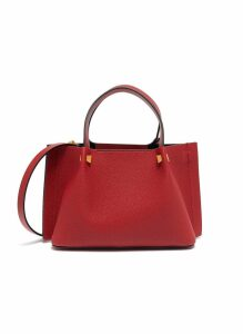 'VLOGO Escape' chain tassel small leather tote