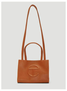 Telfar Small Shopping Bag in Brown size One Size
