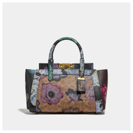 Coach Troupe Carryall With Kaffe Fassett Print