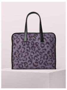Morley Leopard Large Tote - Purple Multi - One Size