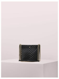 Amelia Small Convertible Crossbody - Black - One Size