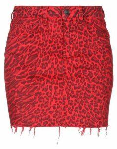 CURRENT/ELLIOTT SKIRTS Mini skirts Women on YOOX.COM