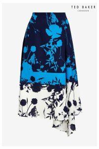 Womens Ted Baker Bluebell Skirt -  Blue