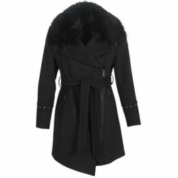 Moony Mood  LITEA  women's Coat in Black