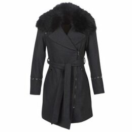 Moony Mood  LITEA  women's Coat in Grey