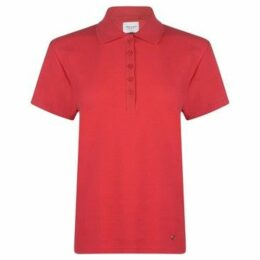 Rock And Rags  Polo Shirt Ladies  women's Polo shirt in Red