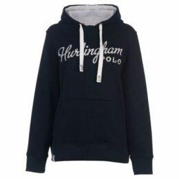 Hurlingham Polo 1875  Essential Tamara Hoody Ladies  women's Sweatshirt in Blue