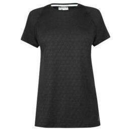 Reebok Sport  Smart Vent T Shirt Ladies  women's T shirt in Black